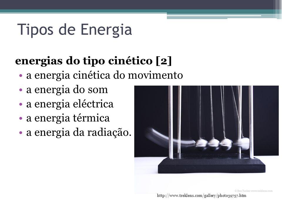 Tipos de Energia energias do tipo cinético [2]